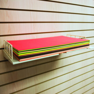 A4 or 11x17 Retail Paper Display Shelf