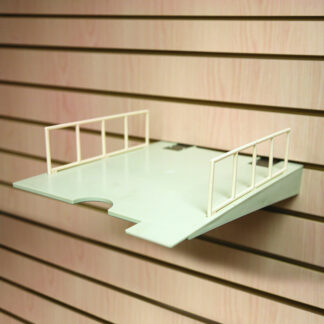 A3 or 8.5x11 Retail Paper Display Shelf