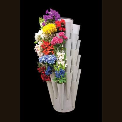 Modern Retail Display - Freestanding Floral Bush Retail Display Unit