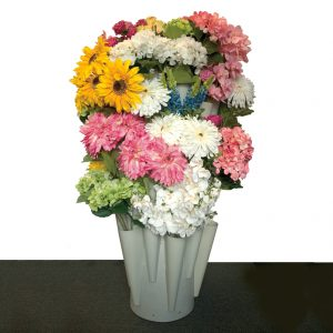 Modern Retail Display - Freestanding Floral Bush Retail Display Unit