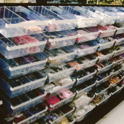 Modern Retail Display - Clear Plastic Organizers