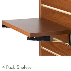 Modern Retail Display - Anchor Core Slatwall Shelves / Shelving