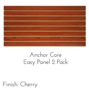 Modern Retail Display - Anchor Core Slatwall Panels - 2 Pack
