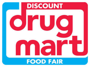 Discount Drug Mart uses our retail store display products.