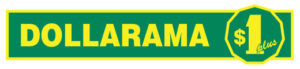 Dollarama uses our retail store display shelving and trays.