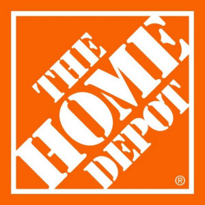 The Home Depot uses our retail display shelving.