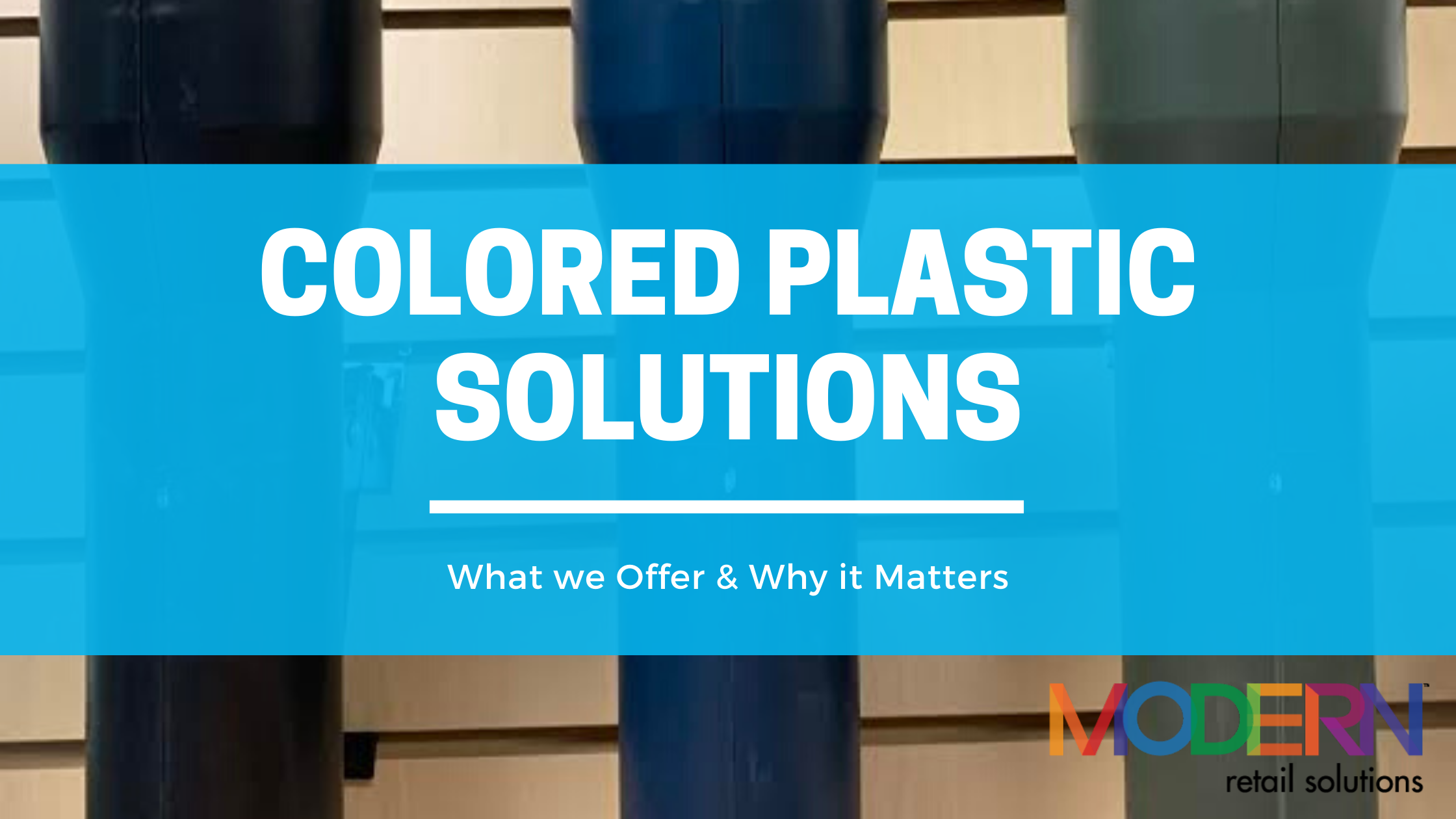 colored plastic solutions