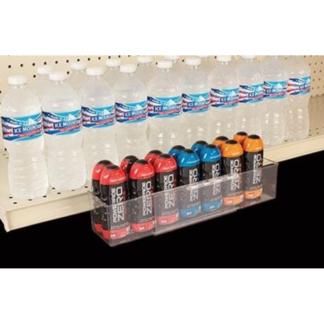 clear adjustable shelf extender